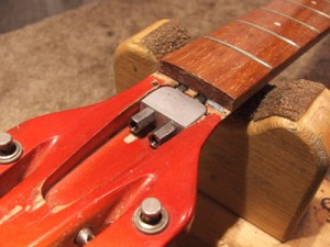 San Francisco Guitarworks, Rickenbacker guitar neck repair