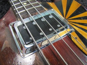 San Francisco Guitarworks, Gibson EB-O Electric Bass Repair Restoration