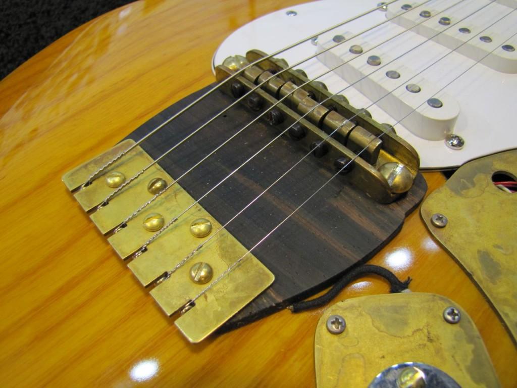 Scotts Alligator Strat Sf Guitarworks