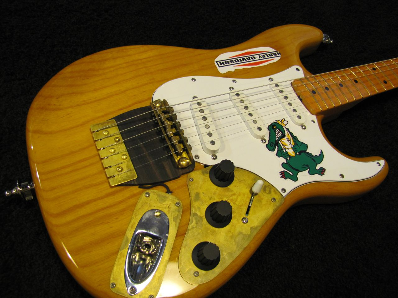 Scott S Quot Alligator Quot Strat Sf Guitarworks