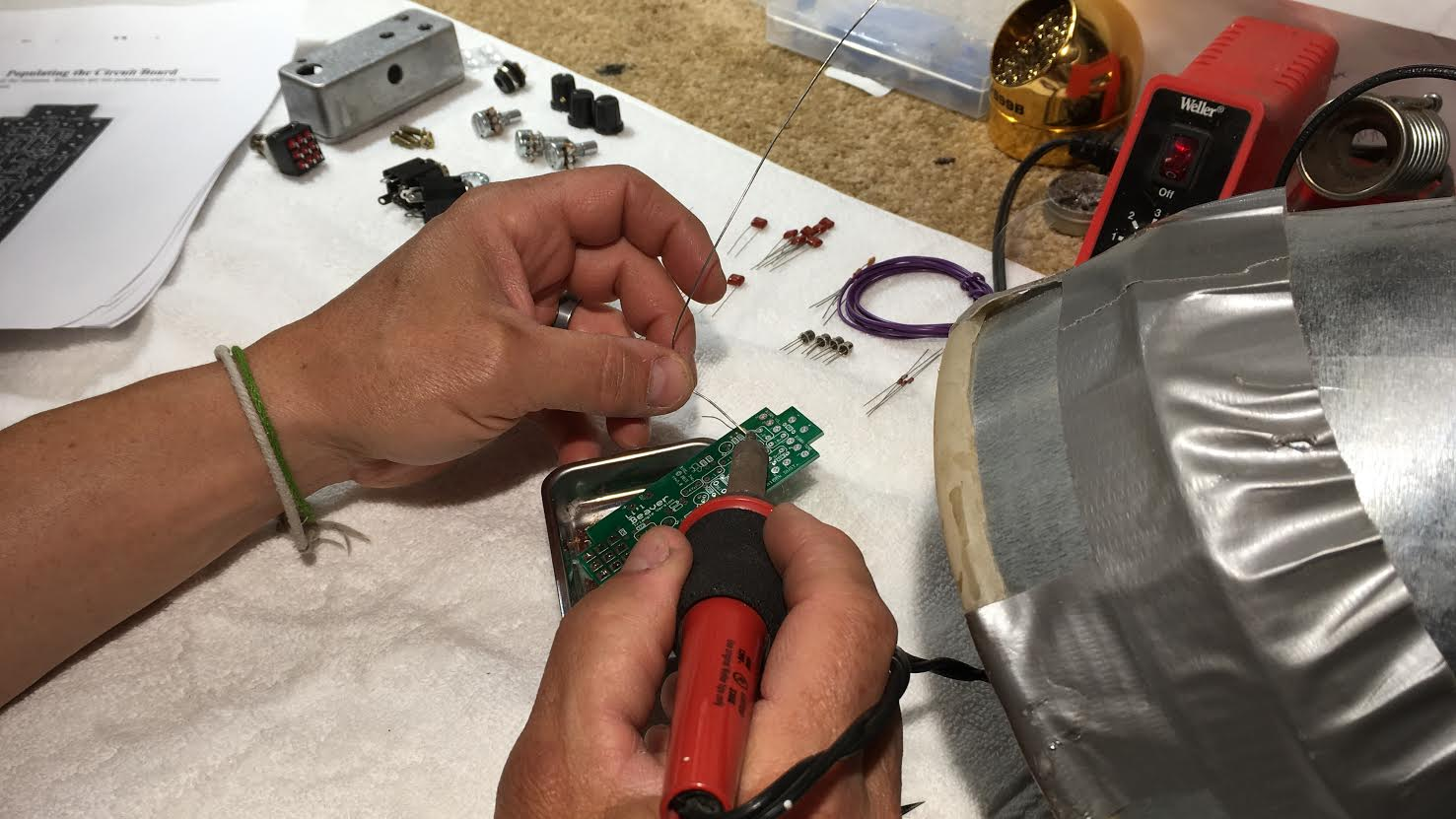 sf guitarworks effects pedal building class sf guitarworks. Black Bedroom Furniture Sets. Home Design Ideas