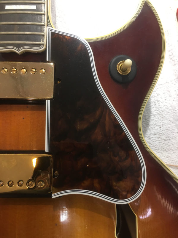 60s Gibson Byrdland Celluloid Pickguard Replacement